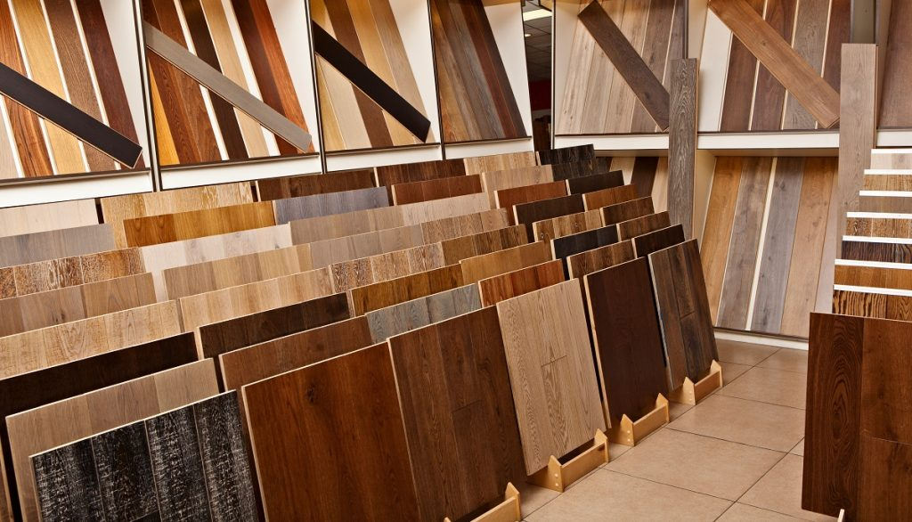 flooring material selection