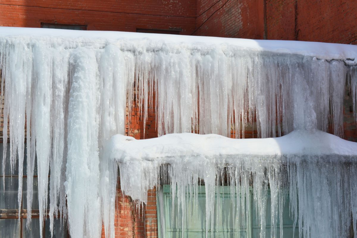ice formation window home